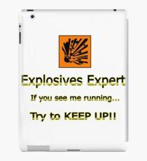 Sprengstoffexperte iPad-Hülle & Klebefolie