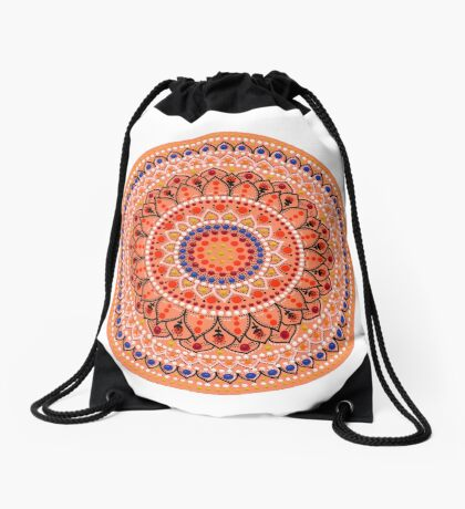 Mandala 5 Drawstring Bag