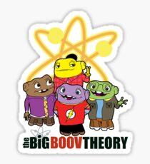 Big Boov Theory Sticker