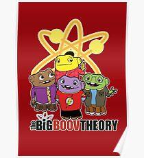 Big Boov Theory Poster