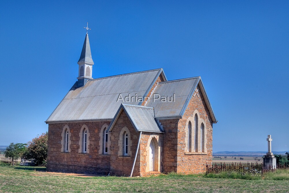 St Saviour's Church, Iandra, NSW by Adrian Paul