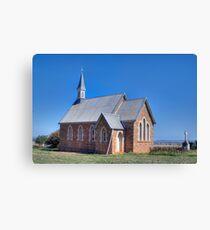 St Saviour's Church, Iandra, NSW Canvas Print