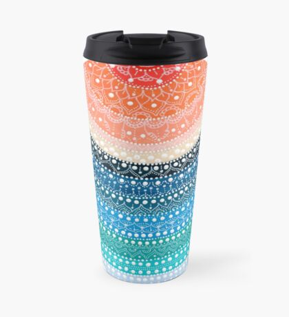 Mandala 8 Travel Mug