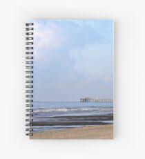 Springmaid Pier Spiral Notebook