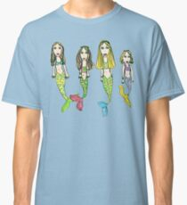 Tane's Drawing of My Girls as Mermaids Classic T-Shirt