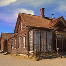 Abandoned building from the California Gold Rush by Sue Leonard