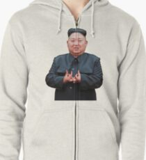 Sudadera con capucha y cremallera Kim Jong Izz-Ung