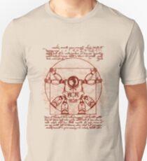 Vitruvian ribbon Unisex T-Shirt