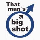 That man´s a big shot - Menfolk series by gnubier