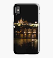 Charles Bridge with Castle & Cathedral iPhone Case/Skin