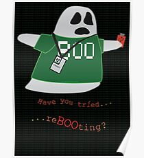 Stanley the Computer Programming Ghost Poster