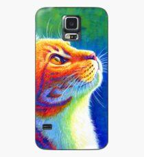 Rainbow Cat Portrait Case/Skin for Samsung Galaxy