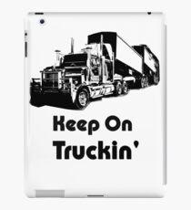 Weiter auf Truckin iPad-Hülle & Klebefolie