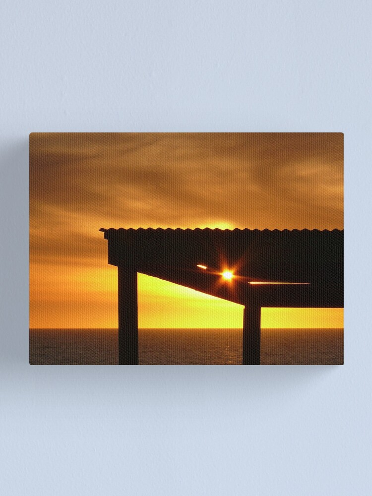 Alternate view of Sunset Star Canvas Print
