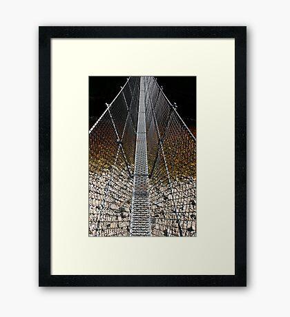 suspension Framed Print