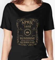 April 1978 Sunshine Mixed With A Little Hurricane Relaxed Fit T-Shirt