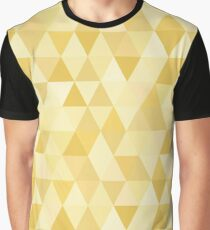 Small Golden Triangles Graphic T-Shirt