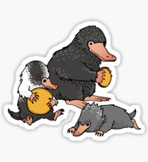 Niffler Family Sticker