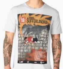 Tour of Sufferlandria 2019 Poster - Female Rider Men's Premium T-Shirt