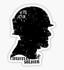 CHRISTIAN SOLDIER Sticker