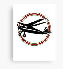 Vintage airplane Canvas Print