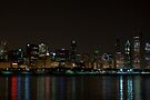 Chicago Skyline with Trump Tower by eegibson