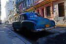 Havana Street scene, Havana, Cuba by David Carton