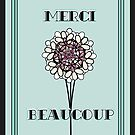 Merci Beaucoup in Blue Mint by CecelyBloom