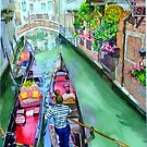 2008 Venice, of Course (Original) Watercolor by BuaS