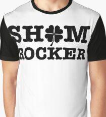 Shamrocker dark St Patrick's Day Clover design Graphic T-Shirt