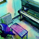 2007 My Practise Room in Blue : Take 2 (Original) by BuaS