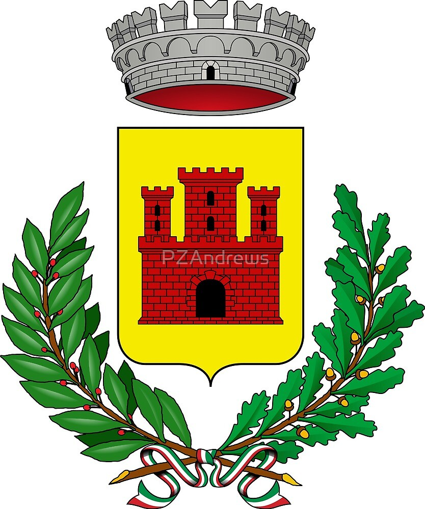 Coat of Arms of Muggia, Italy by PZAndrews