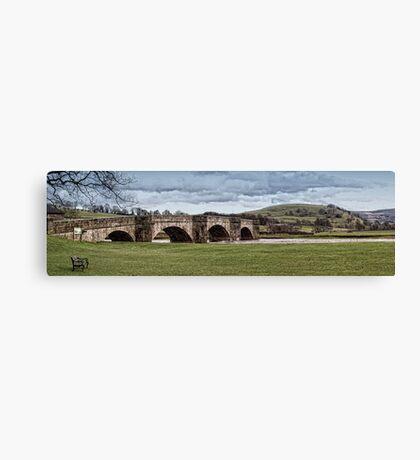 Burnsall Bridge Canvas Print