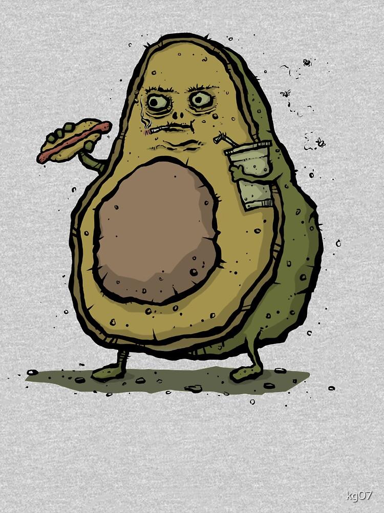 Unhealthy Avocado by kg07