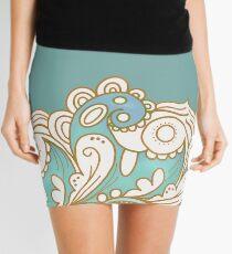 Mermaid Waves Mini Skirt