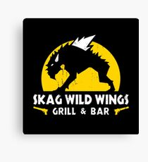 Skag Wild Wings Canvas Print