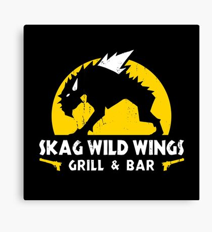 Skag Wild Wings Canvas Print