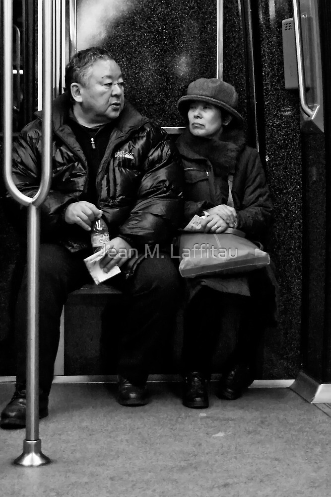 The couple by Jean M. Laffitau