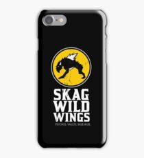 Skag Wild Wings (alternate) iPhone Case/Skin