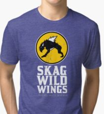 Skag Wild Wings (alternate) Tri-blend T-Shirt
