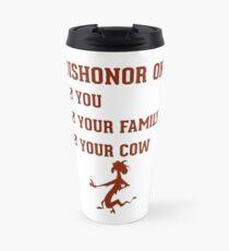Dishonor on you Travel Mug