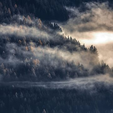 «Wanderlust Foggy Mountain» par ChillingNation