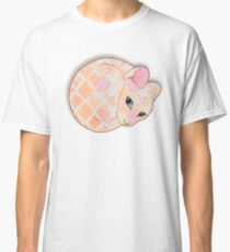 Introvert Kitten - patterned cat illustration Classic T-Shirt