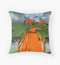 Lonely Island Throw Pillow