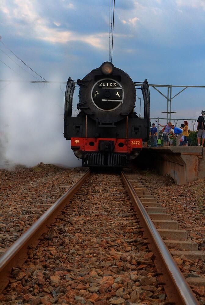 Steam Train to Magaliesberg by JandeBeer
