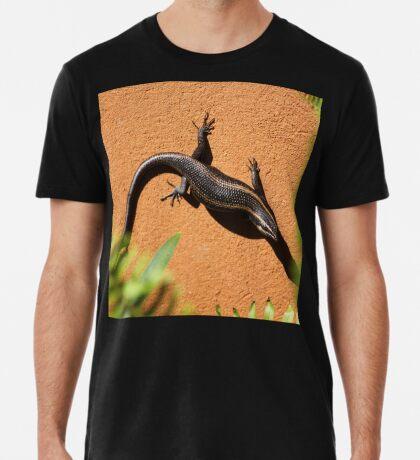 African Striped Skink (Trachylepsis striata) Premium T-Shirt