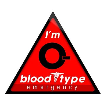 O- blood type information / stay safe, I suggest application to helmets by VisualAffection