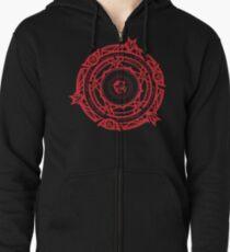 Gremory Clan Magic Circle Zipped Hoodie