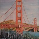 Golden Gate Bridge In Full Bloom by Kashmere1646