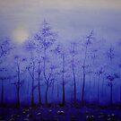 A Blue Start by debabratapaul